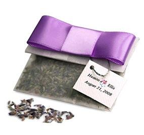 Lavender Seeds Glassine Bag Favor