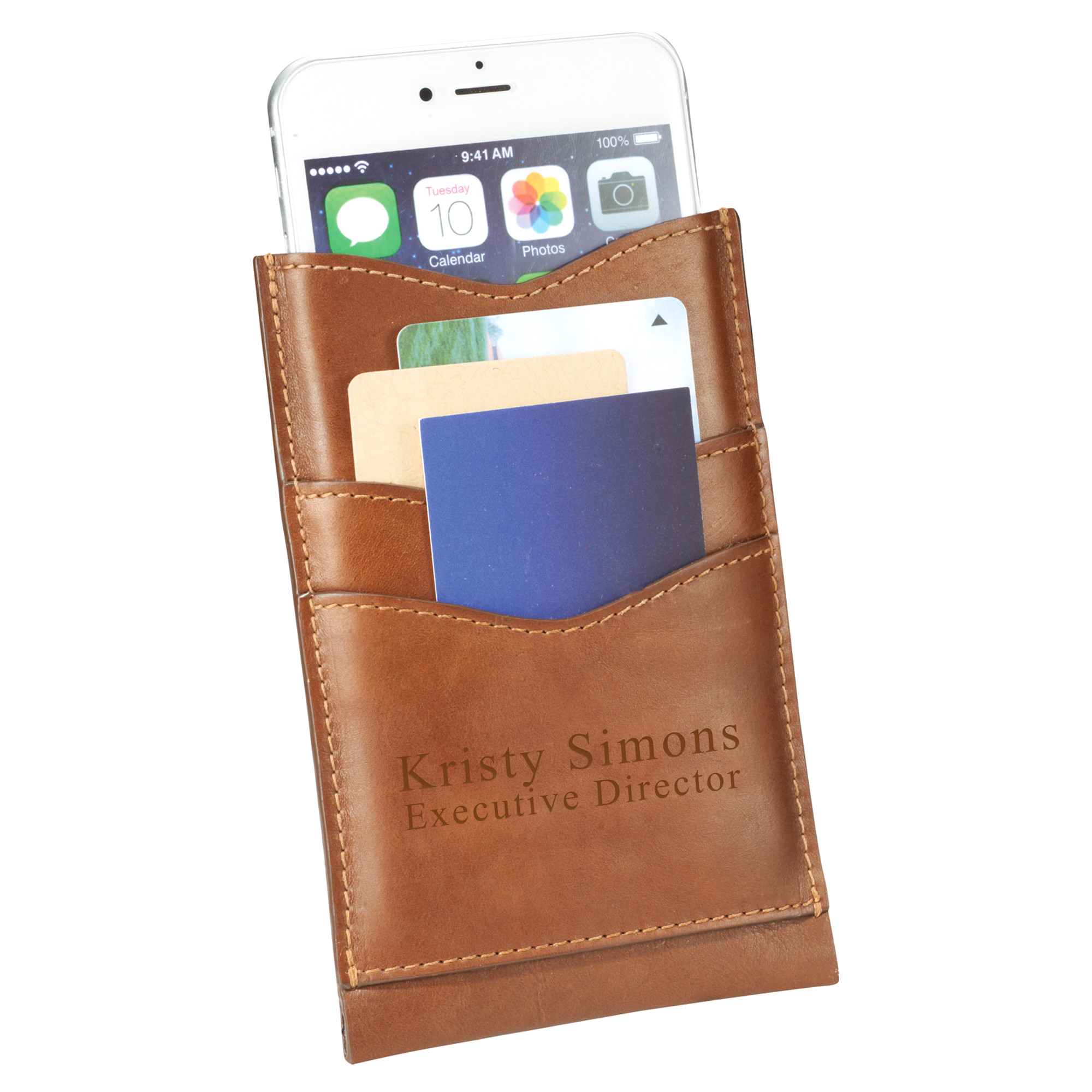 Alternative Smartphone Case & Credit Card/ID Leather Wallet