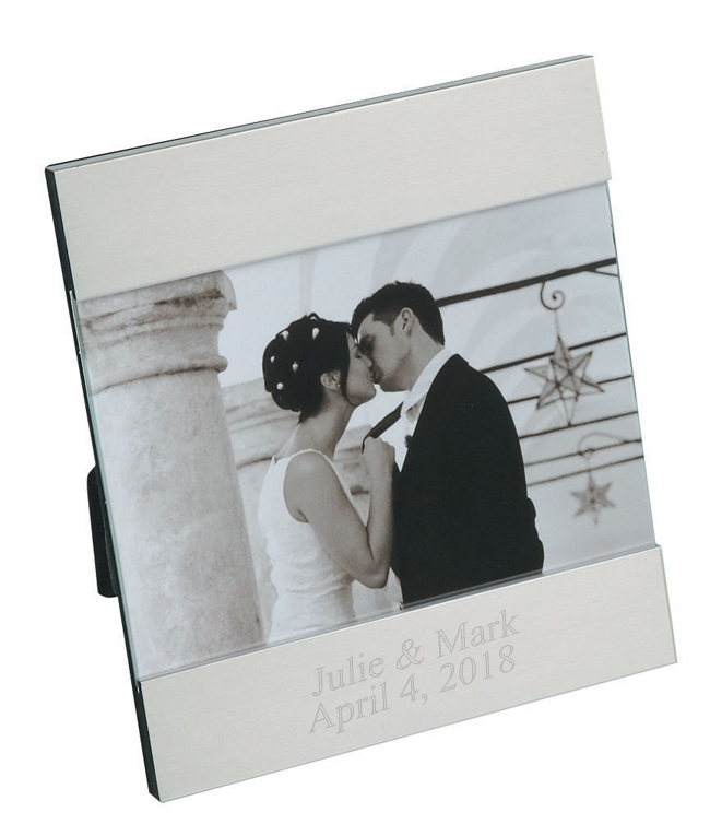 """5"""" x 7"""" Modern Style Aluminum Picture Frame"""