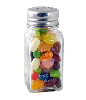 Sprinkled with Love Glass Salt & Pepper Shaker Jar
