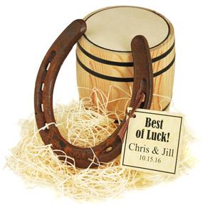 Antique Lucky Horseshoe Wedding Favor