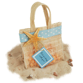 Mini Jute Potpourri Bag Favor*