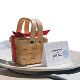 Sweet Double Handles Mini Picnic Basket