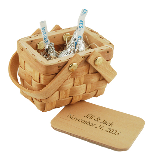 Love is Sweet Double Kisses Mini Picnic Basket