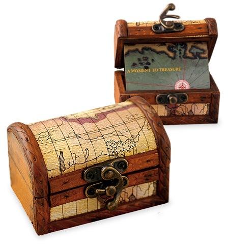Personalized Wood Treasure Map Chest Box  sc 1 st  HansonEllis & Personalized Wood Treasure Map Chest Box: HansonEllis.com Aboutintivar.Com