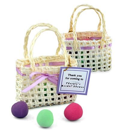 Springtime Mini Woven Favor Bag