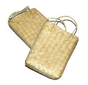 Mini Jute Favor Bag (Set of 6)