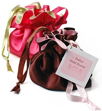 Satin Chic Jewelry Pull String Pouch