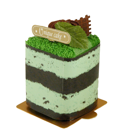 Mint Ice Cream Towel Cake