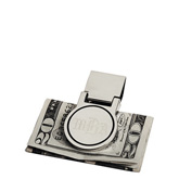 Personalized Modern Silver Money Clip
