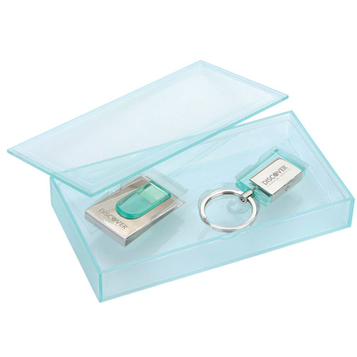 Money Clip and Keychain Gift Set
