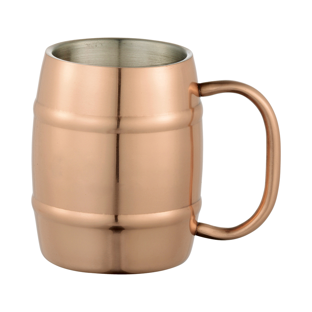 engraved doublewall moscow mule barrel mug