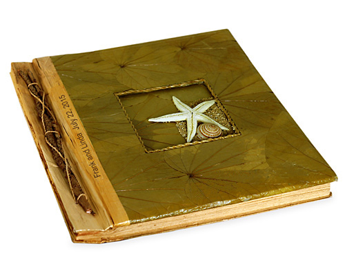 Handcrafted Butterfly Leaf Beach Starfish Photo Album*