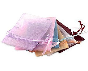 Organza Favor Bags (Set of 10)