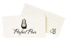 The Perfect Pear Wishing Cards*