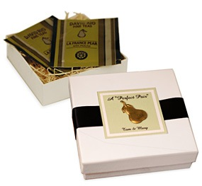 Perfect Pair Tea in Pear Motif Gift Box