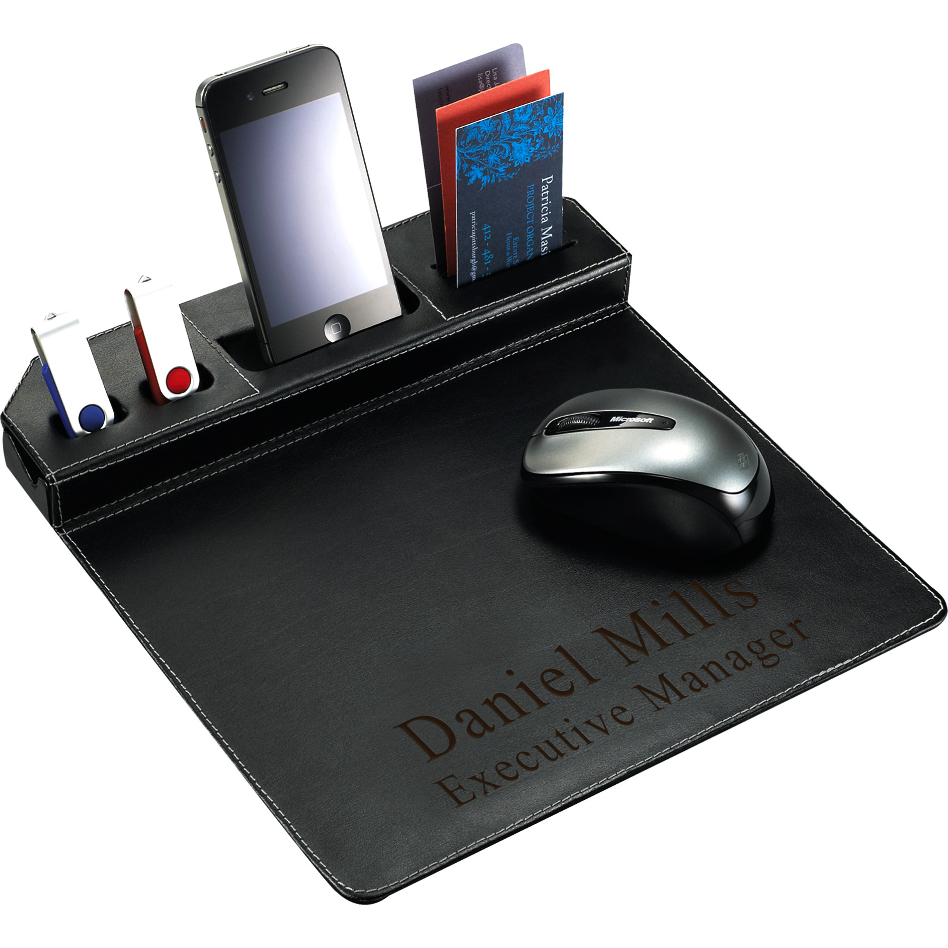metropolitan smart phone mouse pad business card usb flash drive