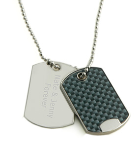 Personalized Dog Tag Necklace*