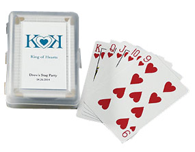 Personalized Playing Poker Cards*