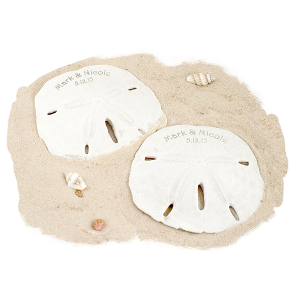 Personalized Sand Dollar Favor