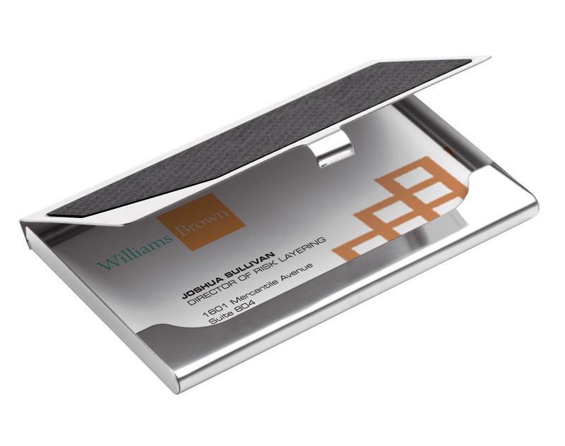 Carbon Fiber Business Card Case Holder: HansonEllis.com