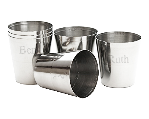 Personalized Stainless Steel Shot Glass