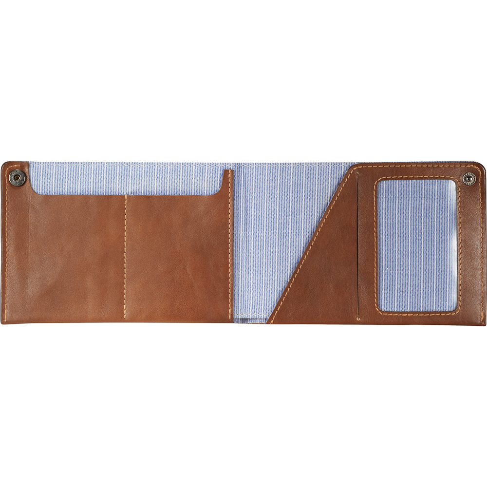 Personalized Travel Passport ID & iPhone Slim Leather Wallet