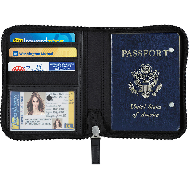 Pedova Traveler Passport ID & Credit Card Wallet
