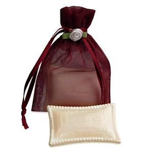 French Pillow Soap in Organza Bag*