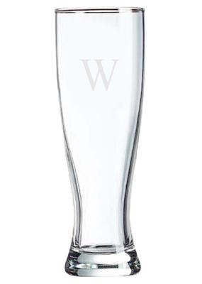 personalized pilsner beer glass hansonellis com