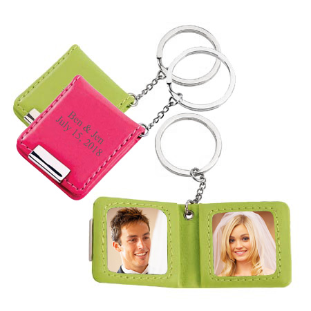 Double Photo Frames Magnetic Key Holder