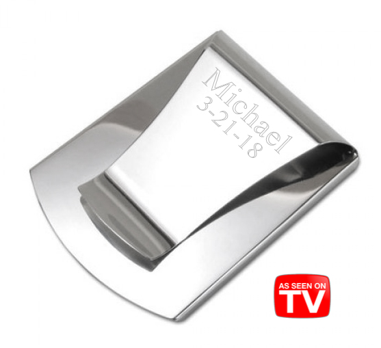 2-in-1 Stainless Steel Smart Money Clip