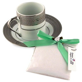 Tea Party Cup and Saucer