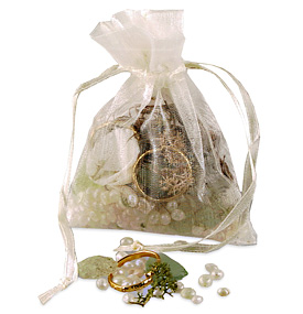 Beach Potpourri In Organza Bag Favor Hansonellis Com