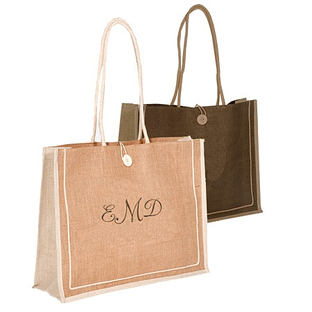 Large Jute Shopping Bag