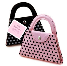 Polka Dot Purse Manicure Set