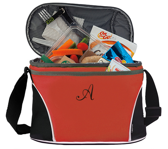 Oval Koozie Lunch Cooler Picnic Compartment Bag*