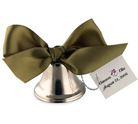 Ribbon Wedding Bell