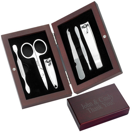 Rosewood Box Manicure Set*