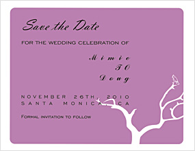 Willow Tree Save The Date Cards