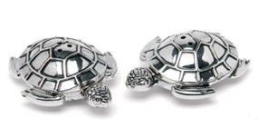 His Hers Sea Turtle Salt And Pepper Shakers