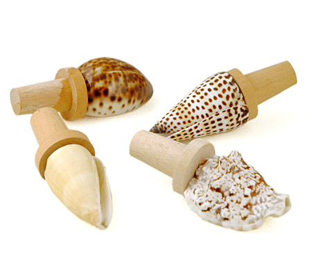 Sea Shell Wine Stopper