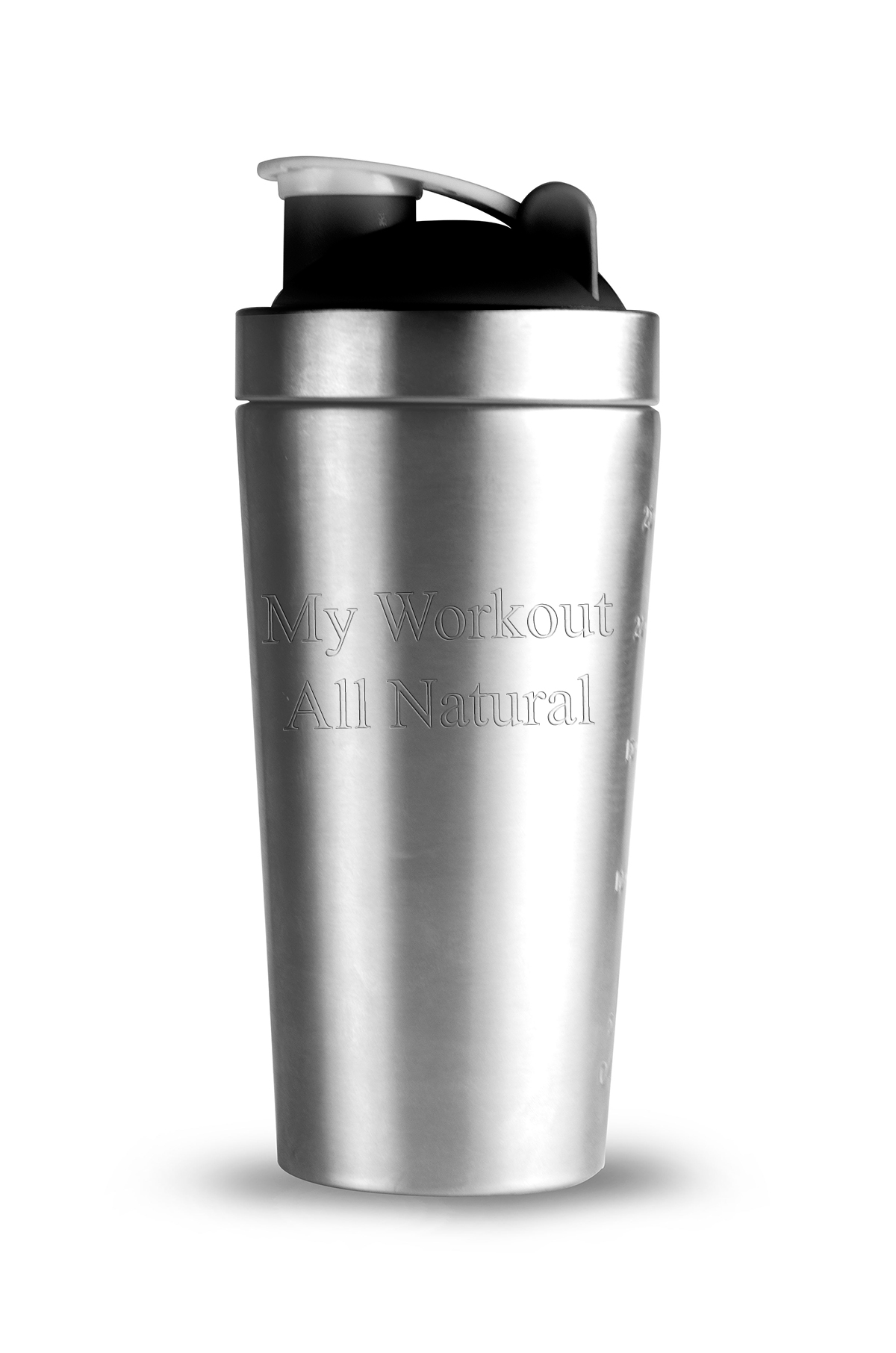 Stainless Steel Shake It Baby Workout Gym Bottle