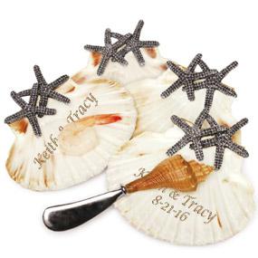 Natural Beach Starfish Shell Tibit