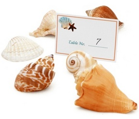Beach Seashell Placecard Holders (Set of 12)*