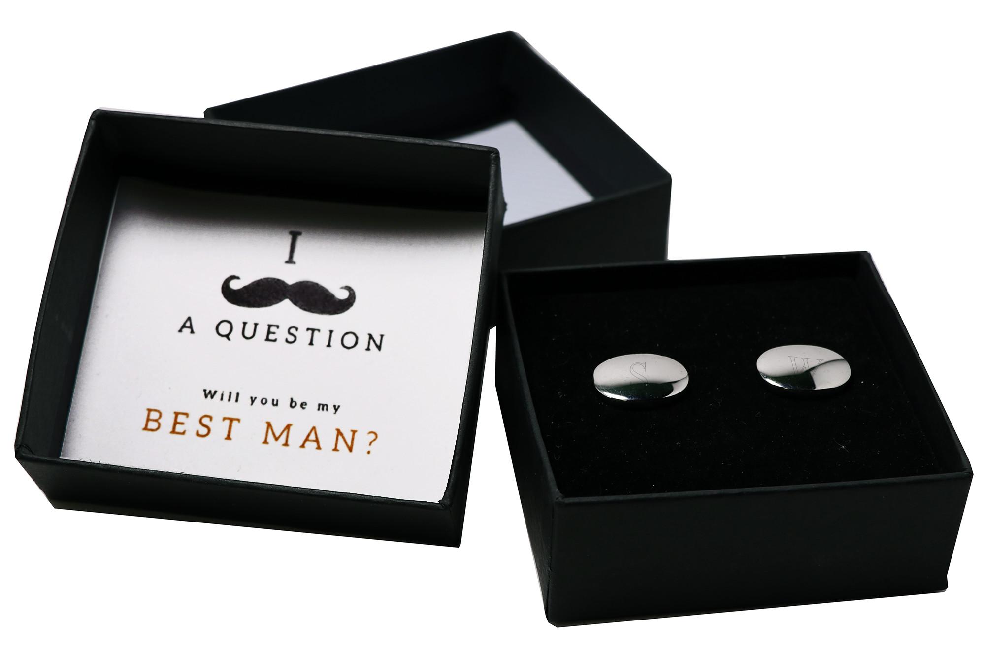 New England Patriots Cufflink Set Best man Groomsmen Wedding Gift Cufflinks