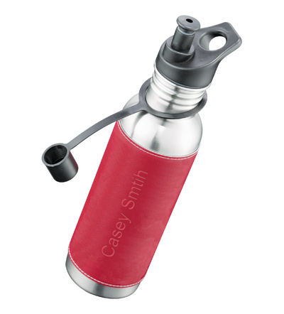 Stainless Steel Sport Water Bottle with Sleeve*