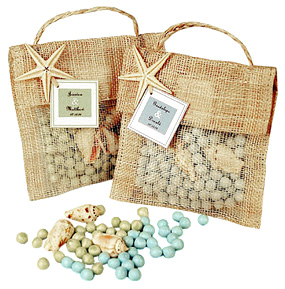 Potpourri & Seashell Beach Sachet Favor*