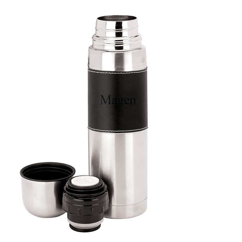 Insulated Double Stainless Steel Wall Thermos with Sleeve