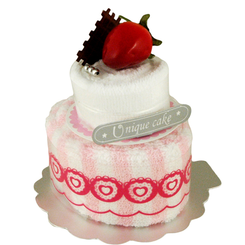 Strawberry Layer Towel Cake